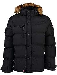 Geographical Norway  anorak para hombre, modelo Behar, forro cálido, tallas S-XXXL