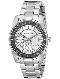 Michael Kors Ryland Reloj Plateado de la mujer mk6233