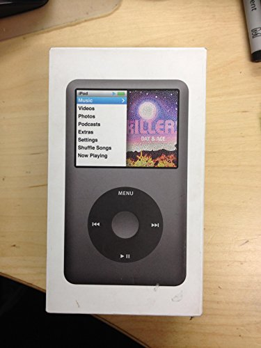 Apple iPod Classic 160 GB schwarz (7. Generation) (in Uni Weiß Box)