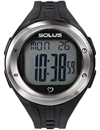 Solus Unisex Digital Watch with LCD Dial Digital Display and Black Plastic or PU Strap SL-900-001