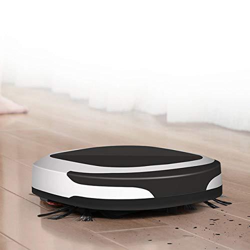 KBUBHN Intelligente Kehrmaschine Intelligenter quadratischer Kehrroboter Roboterstaubsauger, schwarz