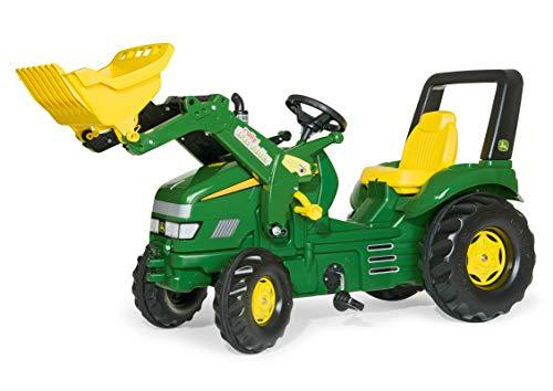 Rolly Toys Trettraktor Rolly Toys 046638 - rollyX-Trac John Deere (für Kinder von 3 bis 10 Jahren, Sitz verstellbar, Flüsterreifen)