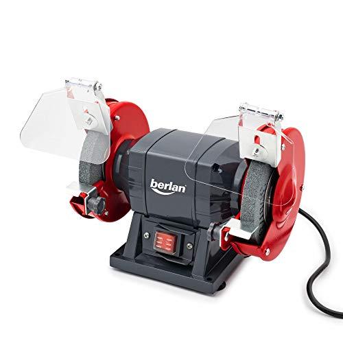 Berlan Doppelschleifer Doppelschleifmaschine Schleifgerät Schleifbock - 150 Watt / 125 x 16 mm