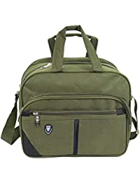 Storite Cross body Travel Office Business Messenger Shoulder Bag For Men Women -Horizontal Olive