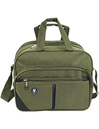 0420505ac7 Storite Cross body Travel Office Business Messenger Shoulder Bag For Men  Women -Horizontal Olive