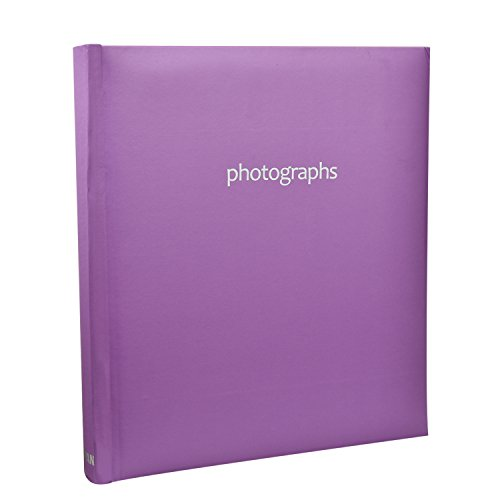 Arpan Fotoalbum Pastell Violett in Memo Buchgebundenes Fotoalbum für 1205x 7Fotos (Fotoalbum 5x7)