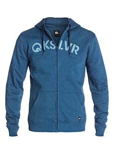 Quiksilver Shadow Tamarack - Veste à capuche zippée pour homme EQYSF03088 Bleu - Dark Denim
