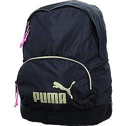 Puma wmn Core Archive Seasonal, Backpack Mujer, Puma Black-Gold, OSFA
