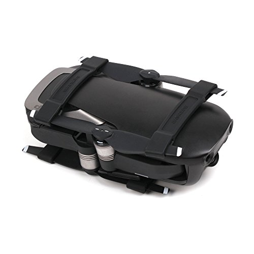 PENIVO 4 Parts / Set Mavic Air Transport Protector Clips, Fixing Protection Bracket Propeller Holder for DJI Mavic Air Drone Accessories (Black)