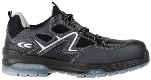 Cofra 20590 – 000.w37 zapatos,taranta, tamaño 4, Negro/Gris
