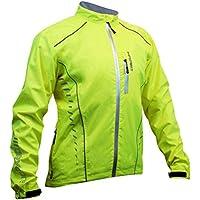 """Impsport DryCore Chaqueta Impermeable De Ciclismo - Amarillo, Medium (38"""")"""