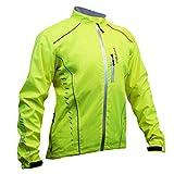 "Impsport DryCore Giacca Da Ciclismo Impermeabile - Giallo, Large (40"")"