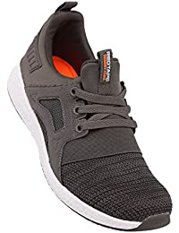 Athleisure Men's Grey Synthetic Shoes (203226191) - 7 UK