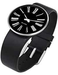 Rosendahl Unisex-Armbanduhr Analog Edelstahl schwarz 43458