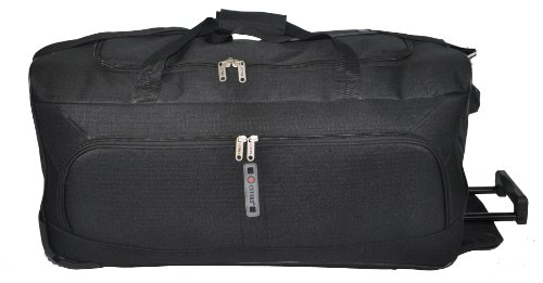 5Städte ® Medium 53,3cm, Large 68,6cm & Extra großer 86,4cm Super leicht Rädern Artikel Tasche Black 602