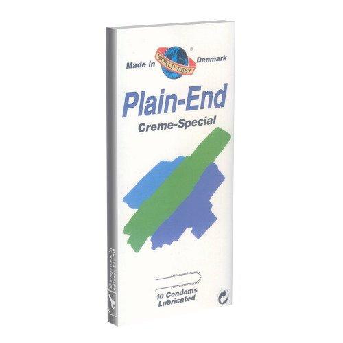 Plain End Cream Special 10 Kondome