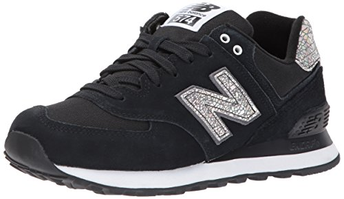 New Balance 574, Sneaker Donna, Nero (Black), 39 EU