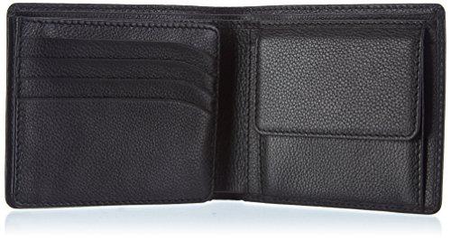 Bogner LEK 1018178 Unisex-Erwachsene Geldbörsen 11x10x1 cm (B x H x T) Schwarz (black 001)