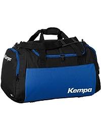 Kempa Bolsa de deporte grande negro/Royal Azul 65x 31x 37,5cm, 75L + Botella