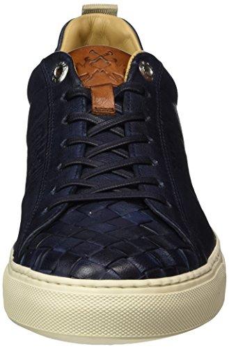 La Martina Herren Cassetta Sneaker Blu (Dark Blue)
