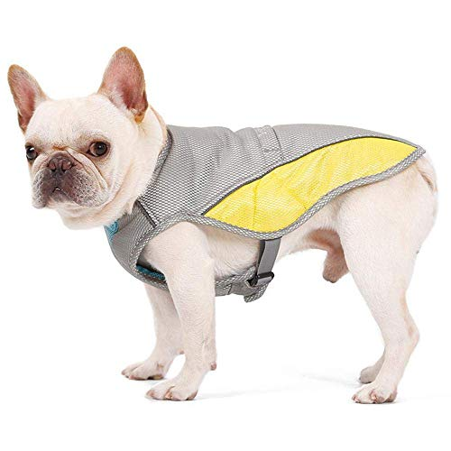 eujiancai Dog Cooling Vest, Evaporative Swamp Cooler Coat Dog Harness Cooler Breathable for Small Medium Large Dogs Preventing Overheating & Dehydration - 7 Sizes to Choose (X-Small)