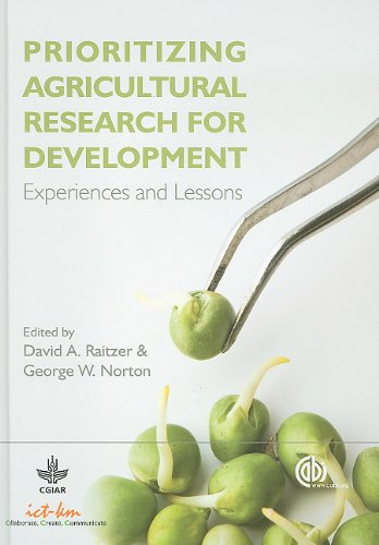 Prioritizing Agricultural Research for Development:Experiences and Lessons