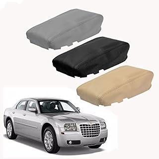 JenNiFer Leder Mittelkonsole Deckel Armlehne Abdeckung Fit Für Chrysler 300 2008-2010 - Grau