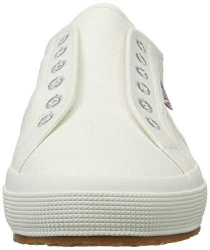 Superga Unisex-Erwachsene 2750 Cotu Slipon Sneaker Weiß (white)