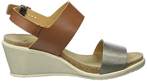 PLDM by Palladium Sheldon Mix, Sandales Bout Ouvert Femme Marron (Cognac)