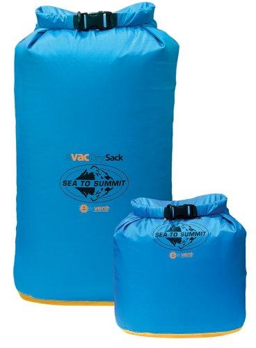 Sea To Summit Packsack eVac Drysack mit eVent - Wasserdichter Packbeutel Blue