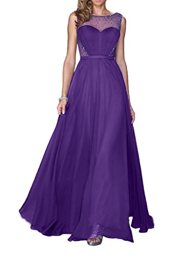 Victory Bridal - Robe - Trapèze - Femme Violet - Lilas