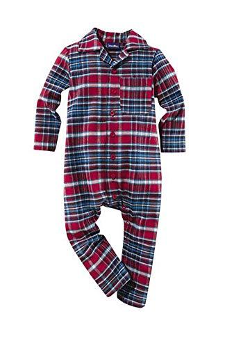 lupilu Baby Flanell Pyjama Schlafanzug Nachtwäsche