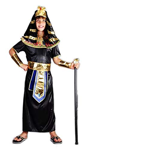 thematys Pharao Ägypten Kostüm-Set für Kinder - perfekt für Fasching, Karneval & Cosplay - Verschiedene Größen ()