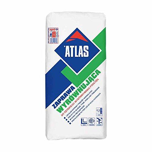 ATLAS Ausgleichsmörtel Zement Spachtelmörtel für Reparaturen 2-15 mm 25 Kg