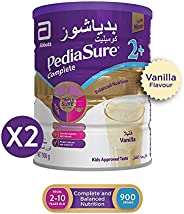 PediaSure Complete 2+ Vanilla, 900g, Pack of 2