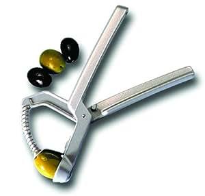 Denoyauteur olivus professionnel. Spécial pour les olives. L 175 mm.