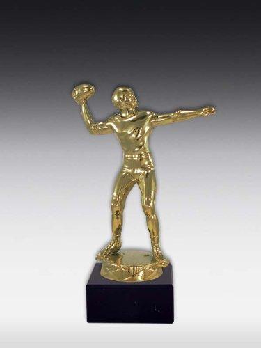Figur American Football Bronze, ink. Wunschgravur