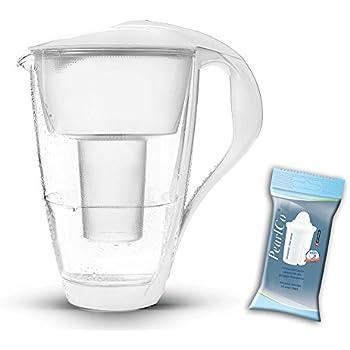 Amazon.de: PearlCo Glas-Wasserfilter (weiß) inkl. 1