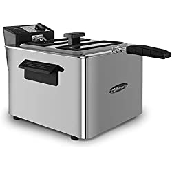Orbegozo FDR 80 Friteuse 3000W 8L Inoxydable