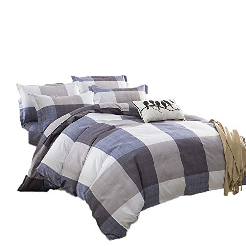 Mmamma Winter Bettwäsche Sammlungen Plaid-Muster-Baumwollbettlaken und Kissenbezüge Bettwäsche-Set Bettwäsche Heimtextilien Schlaf Schlafzimmer-Dekor Bettbezug-Set Bettlaken Set -