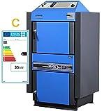ATMOS Kohlevergaser KC35S 35 kW Kohlevergaserkessel Heizkessel Allesfresser