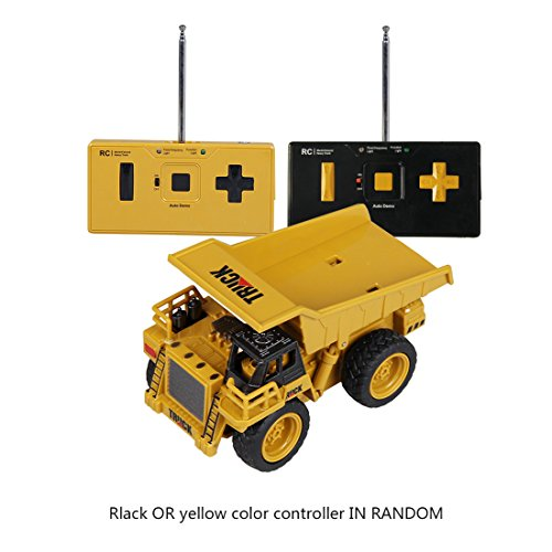 RC Baufahrzeug kaufen Baufahrzeug Bild 1: Mecotech RC Auto Mini Ferngesteuerte Autos 1:64 Skala RC LKW Gabelstapler Ferngesteuert Baufahrzeuge Spielzeug für Kinder ab 6 Jahren*