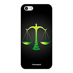 HomeSoGood Libra Zodiac Sign Black 3D Mobile Case For iPhone 5 / 5S (Back Cover)