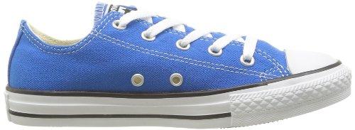 Converse Chuck Taylor All Star Wash Neon Ox, Baskets mode mixte enfant Bleu