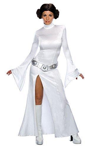 Rubie's, costume da donna ufficiale da principessa leila di star wars, costume classico e sexy