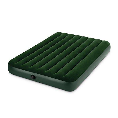 Intex 66968 Luftbett Prestige Downy Green Batterien Full, 137 x 191 x 22 cm