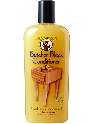 Howard bbc012 355 ml/12 Oz Butcher Block Conditioner (Mineralöl-schneidebrett)