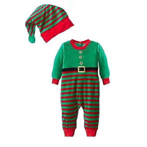 Bébé Père Noël Chapeaux - CuteOn Unisexe Enfant bébé Noël Père noël