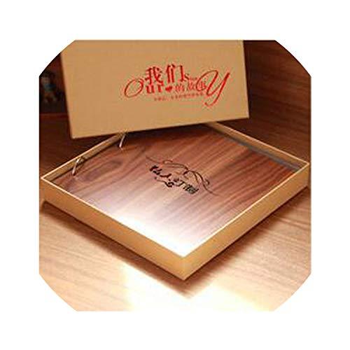 Álbum de fotos de 16 pulgadas de madera con diseño de parejas de ...
