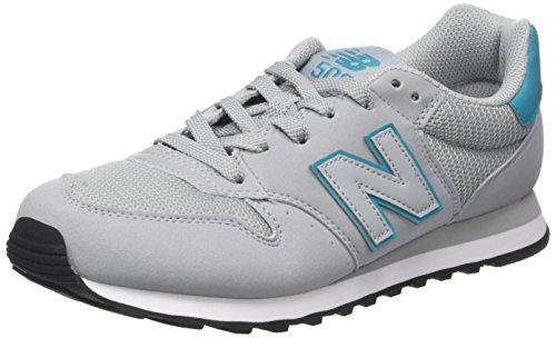 New Balance Gw500, Sneaker Donna Grigio (Grey/turquoise)